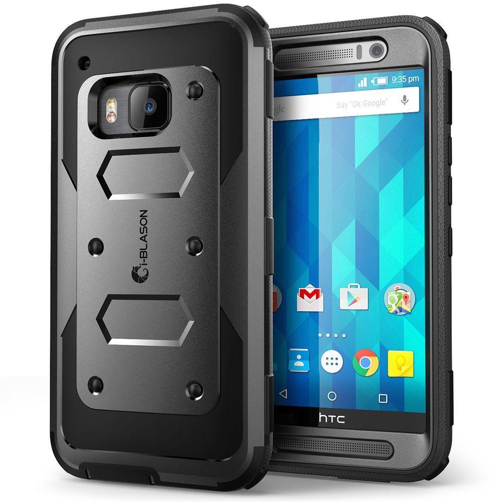 i-Blason Armorbox Full-Body Case for HTC One M9, Black by i-Blason