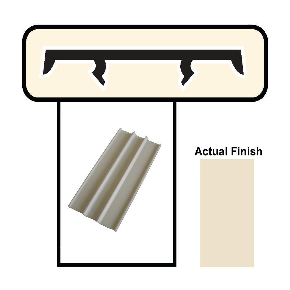 1-1/2 in. Beige Porch Screening System Cap