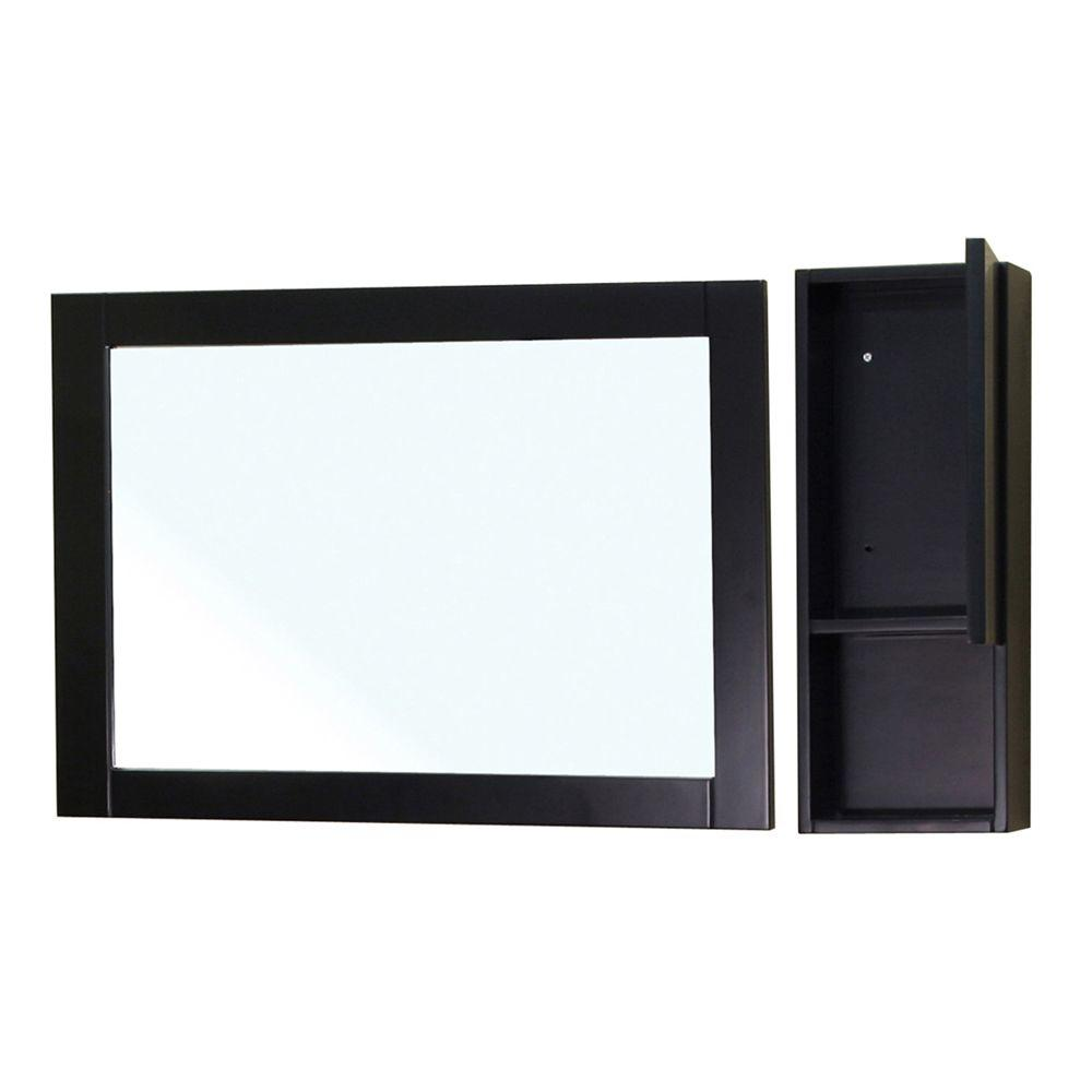 Limerick 24 in. L x 31 in. W Wall Mirror Side