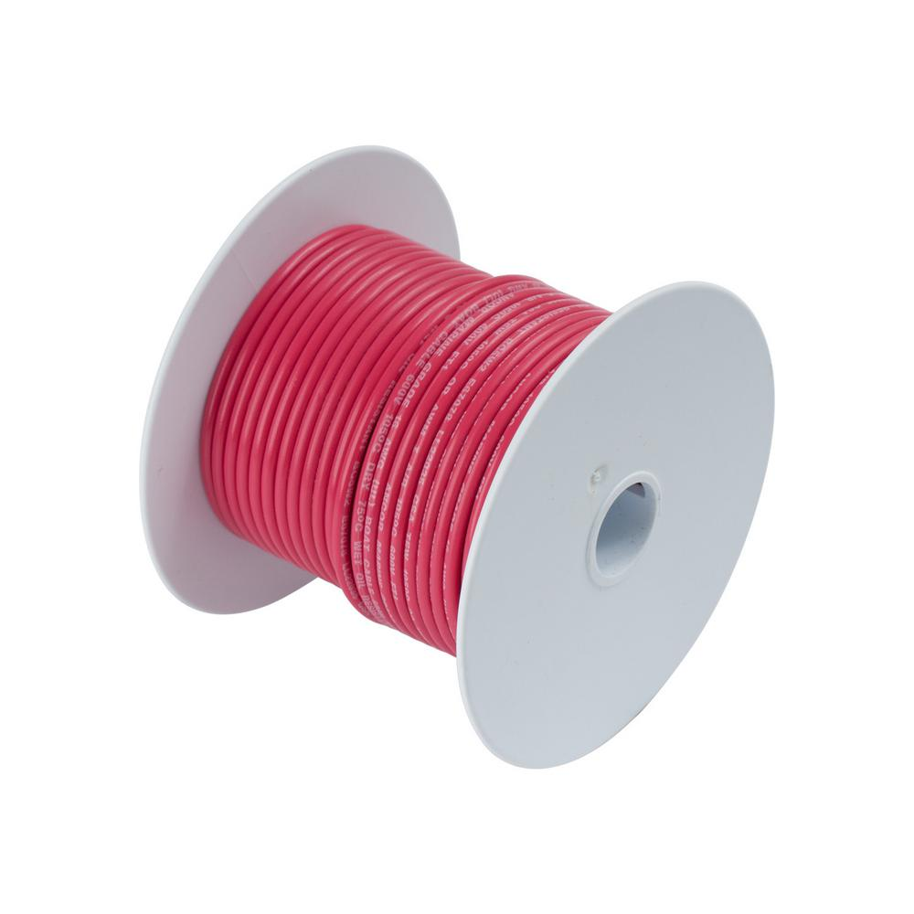 100 ft. 10 AWG Primary Wire Spool, Red (Case of 5)