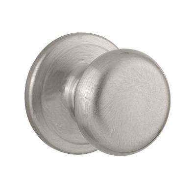 Juno Satin Nickel Half Dummy Knob