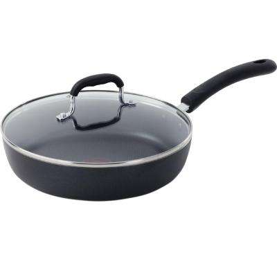 Professional Aluminum Saute Pan with Lid