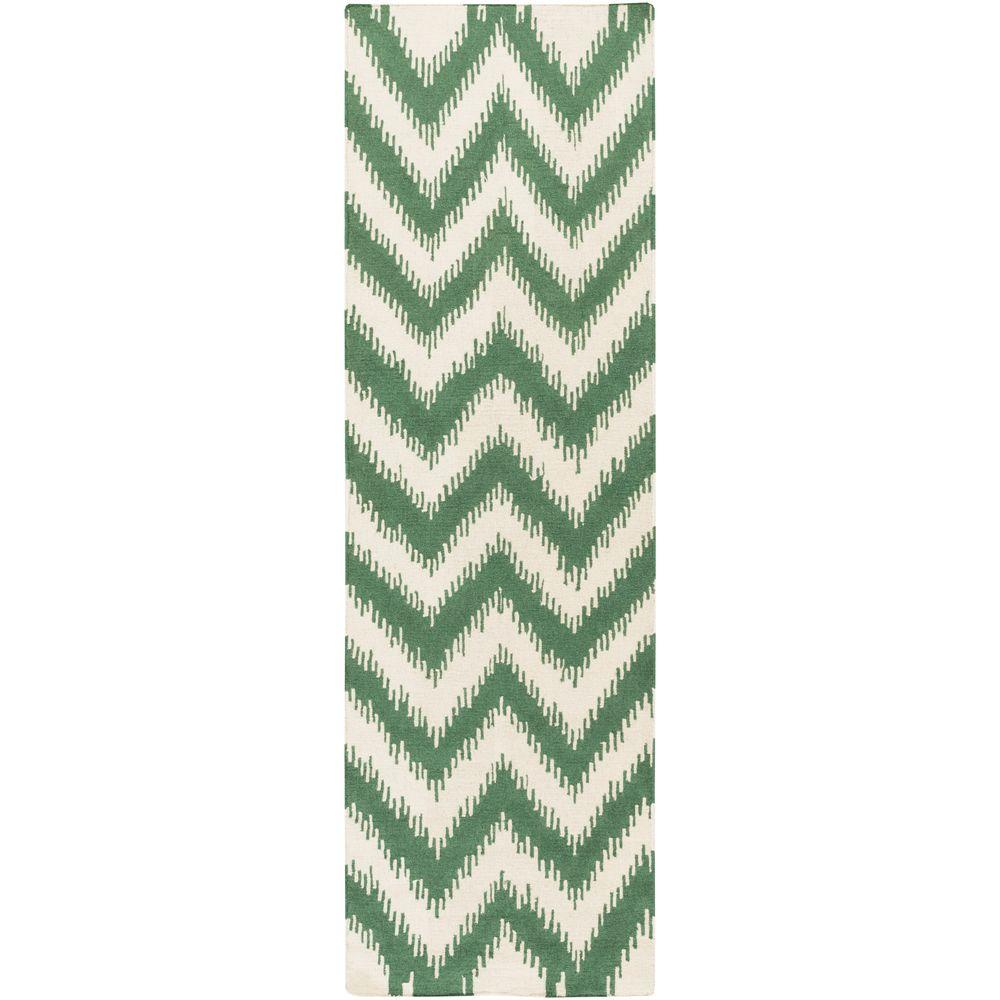 Surya Frontier Emerald/Kelly Green 2 Ft. 6 In. X 8 Ft
