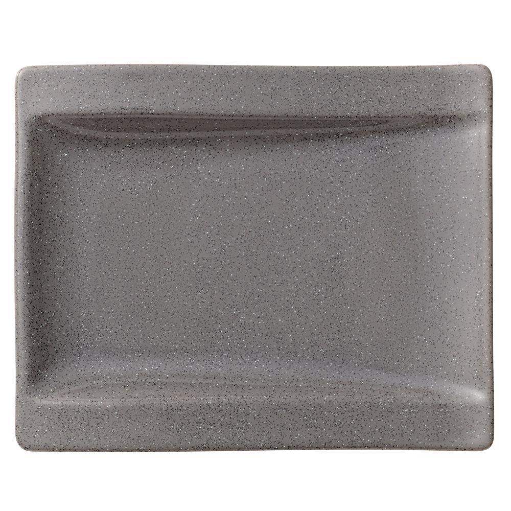 Villeroy & Boch New Wave Gray Stone Porcelain Appetizer Plate 1041982660