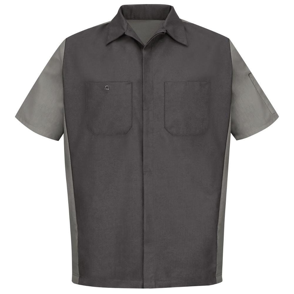 Men's 2X-Large Charcoal/Light Grey Crew Shirt