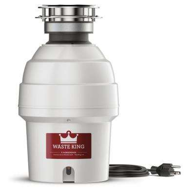Legend Series 3/4 HP Continuous Feed Garbage Disposal