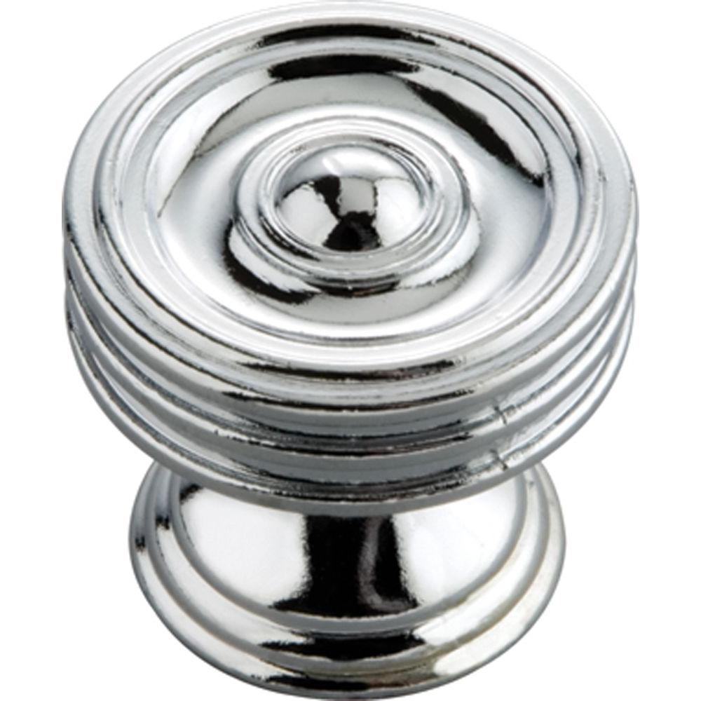 Concord 1-1/4 in. Chrome Cabinet Knob