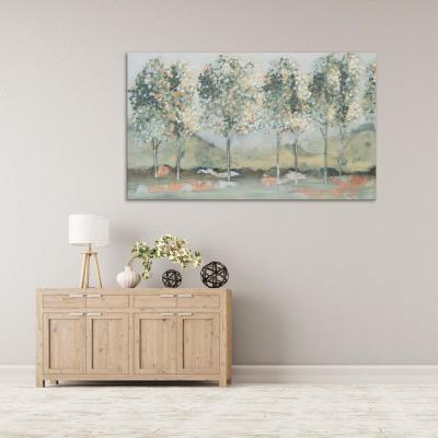 "36 in. x 60 in. ""Wildwood"" by Milo Printed and Painted Canvas Wall Art"