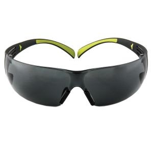 Click here to buy 3M SecureFit 400 Black/Neon Green Frame with Gray Anti-Fog Lenses Safety Glasses by 3M.