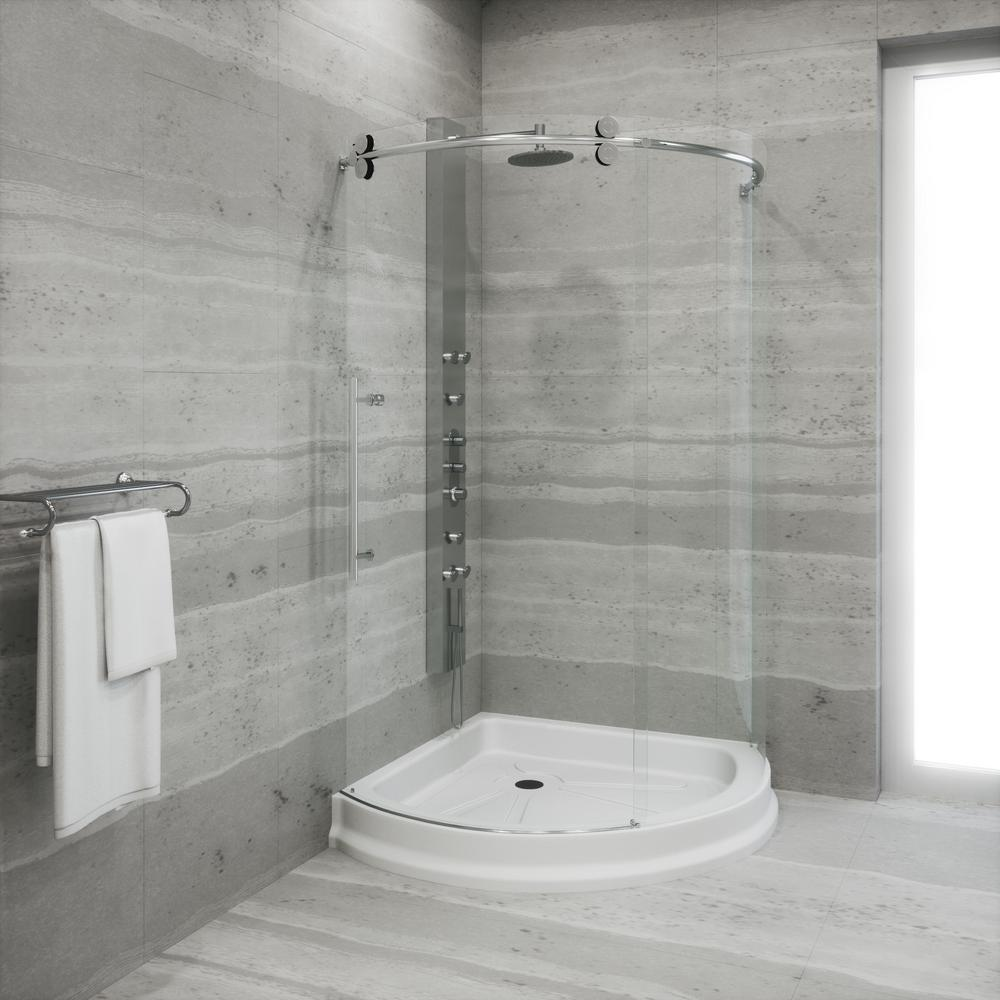 Stainless Steel - Shower Stalls & Kits - Showers - The Home Depot