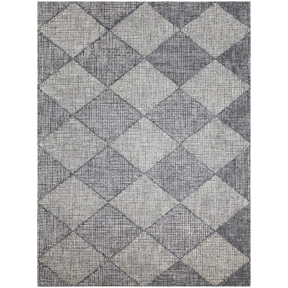 Diamond Gray 8 Ft X 11 Indoor Area Rug