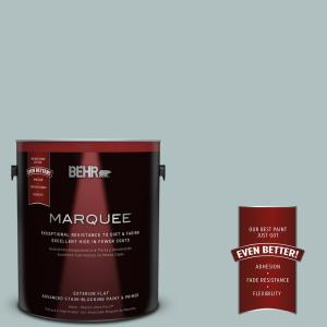 Home Decorators Collection 1-gal. #HDC-CT-26 Watery Flat Exterior Paint