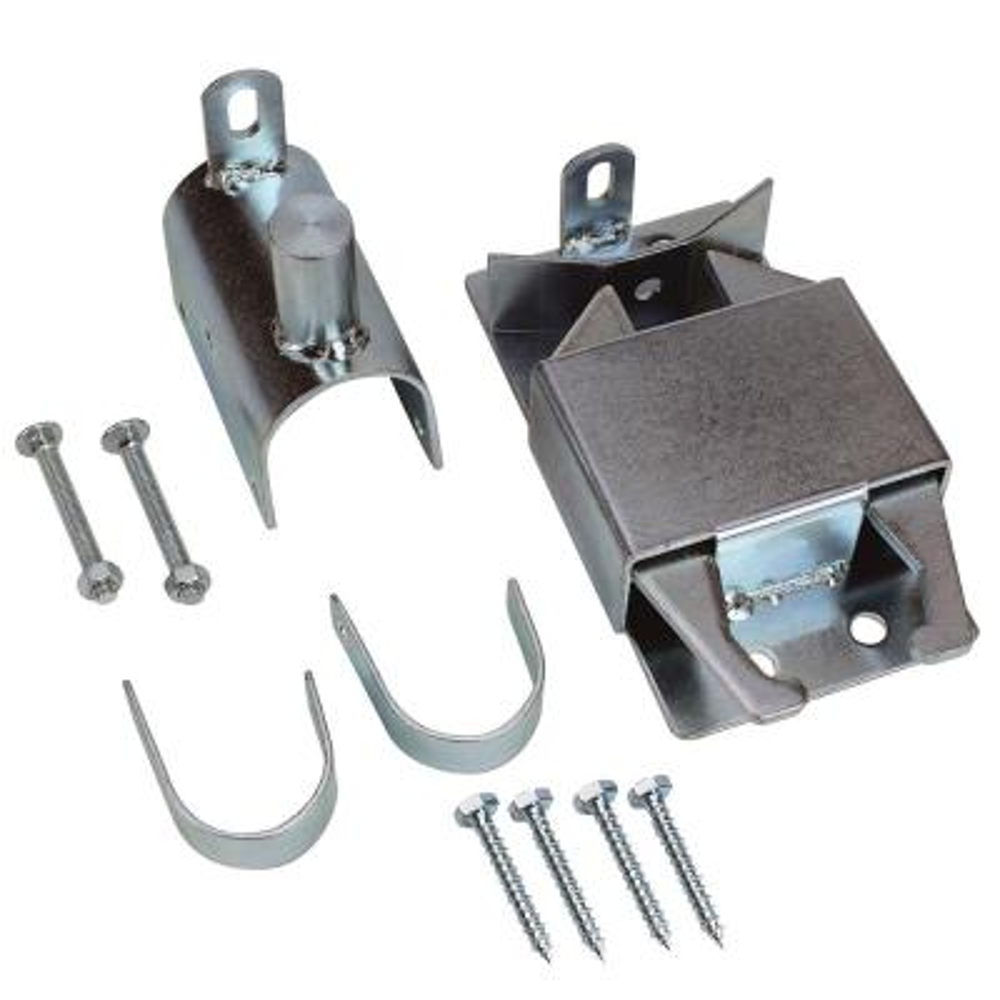 Zinc Plated 2-Way Lockable Gate Latch