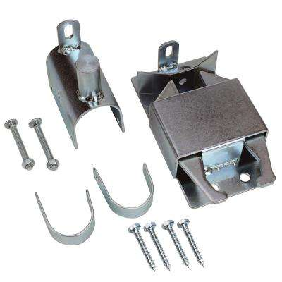 Zinc Plated 2-Way Lockable Gate Latch