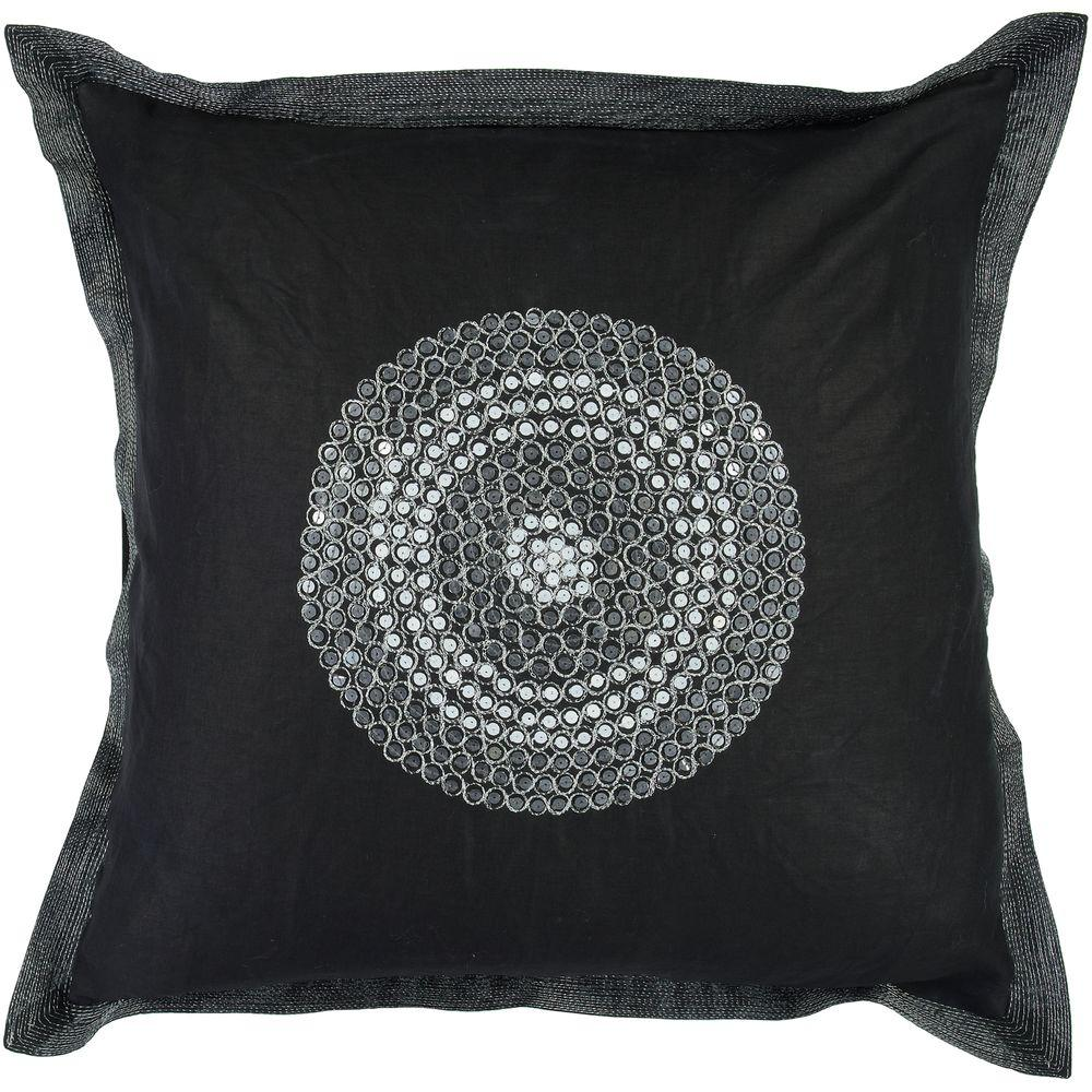 Artistic Weavers DotsB 18 in. x 18 in. Decorative Down Pillow-DISCONTINUED