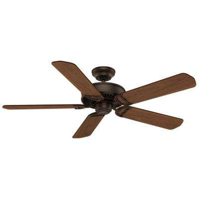 Panama 54 in. Brushed Cocoa Indoor Ceiling Fan