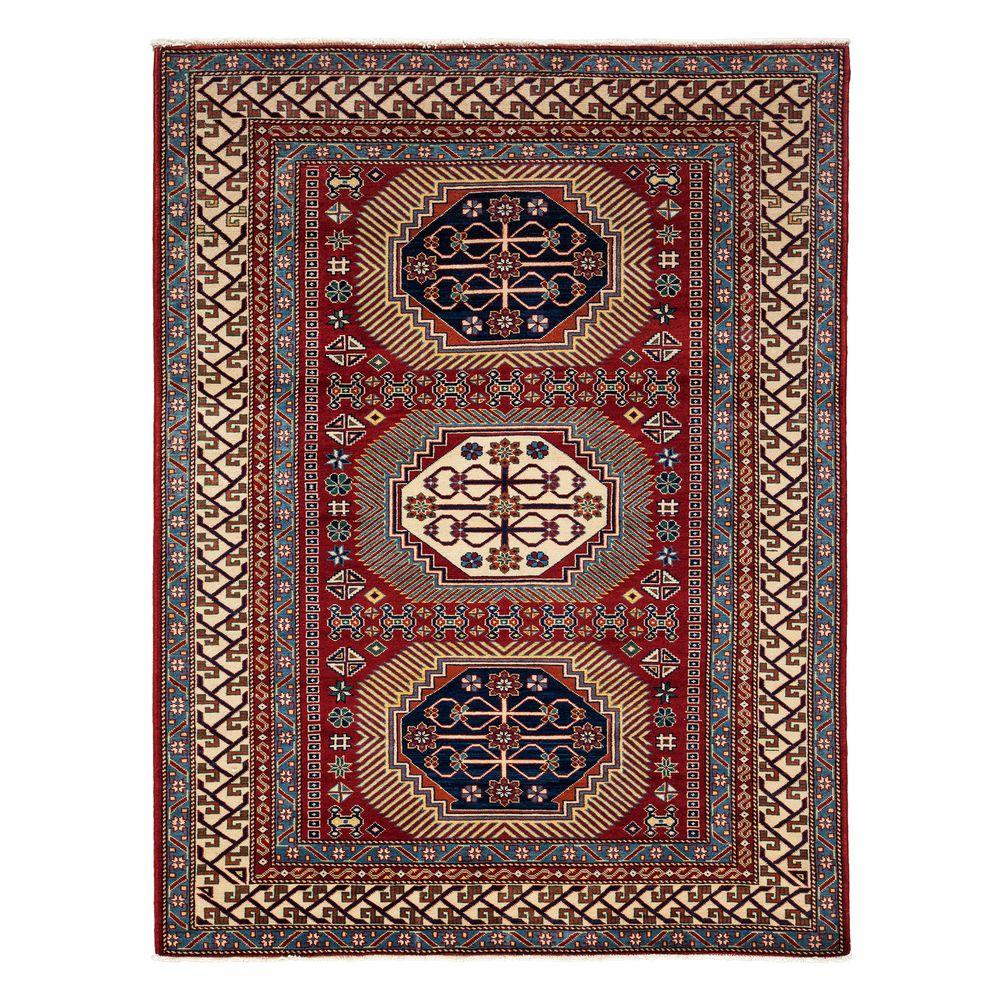 Solo Rugs Shirvan Red 5 Ft. X 7 Ft. Indoor Area Rug-M1780