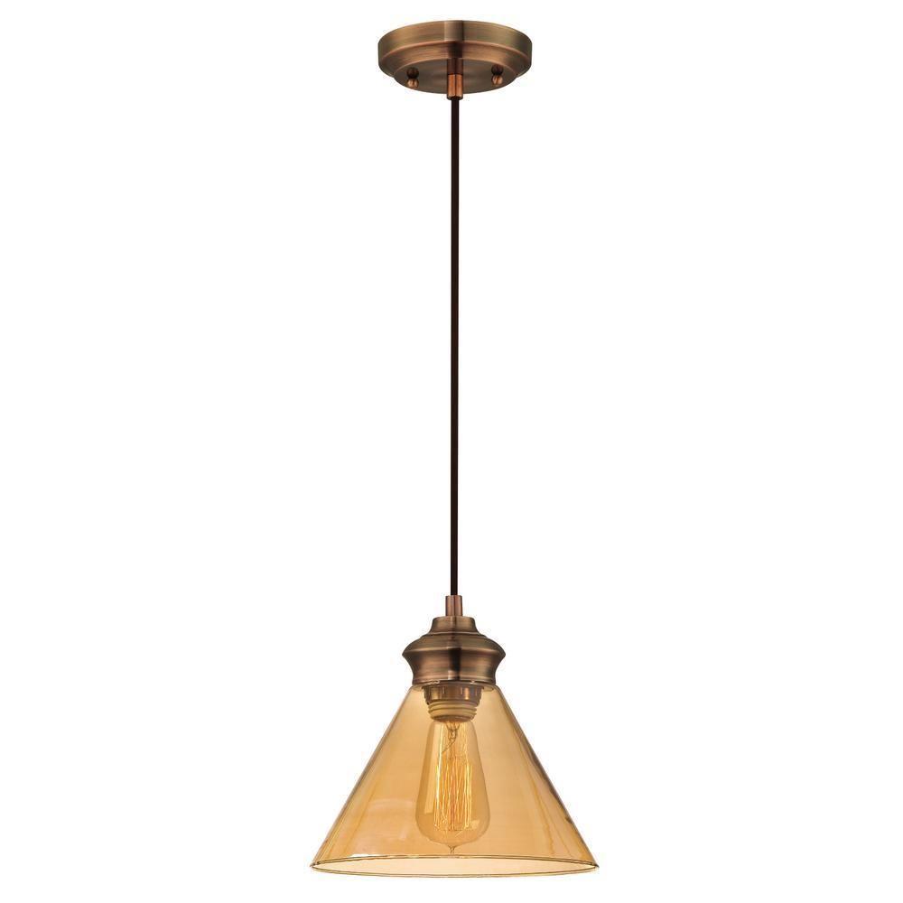 Cone Triangular Glass Light Pendants