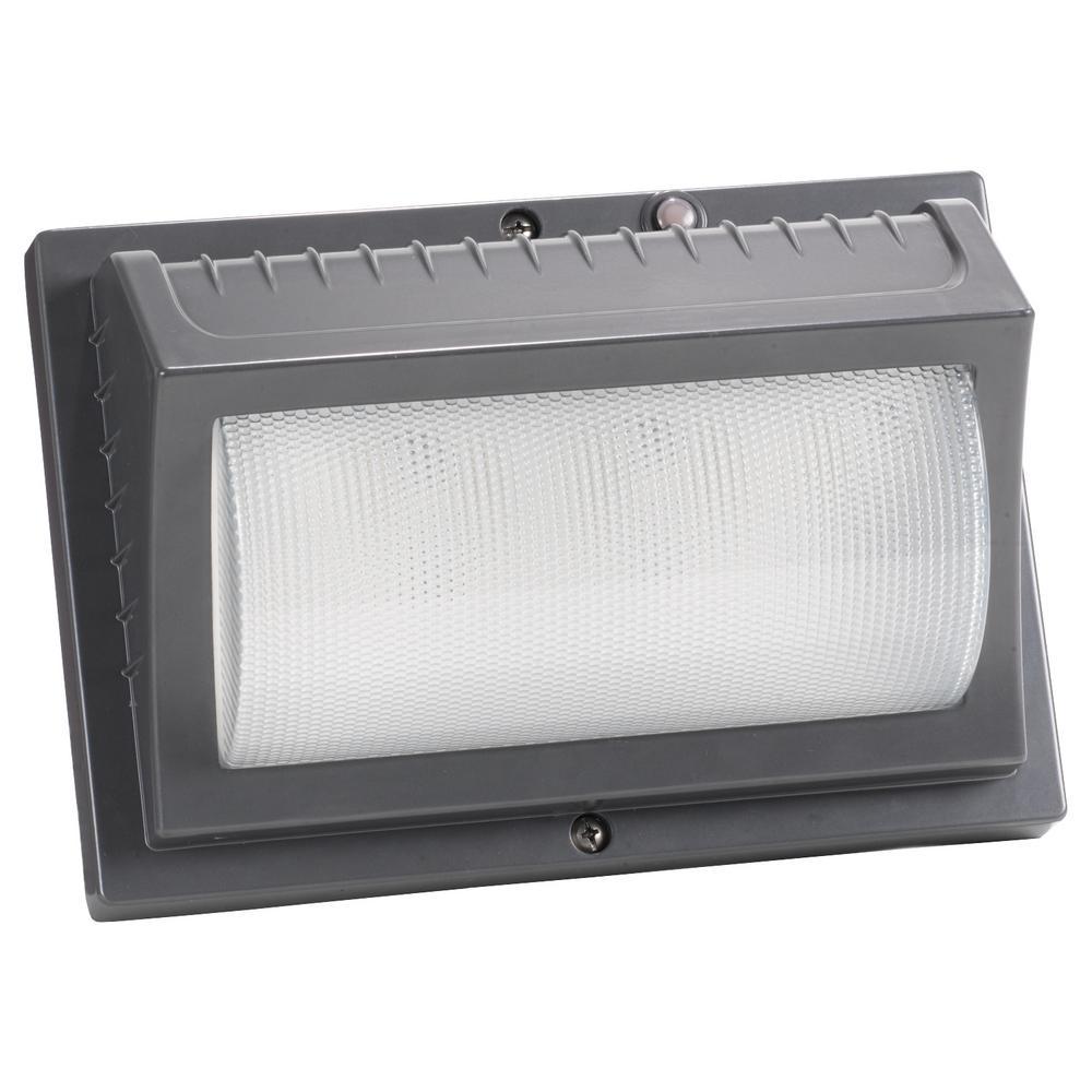 Honeywell 22-Watt Titanium Gray Outdoor Integrated LED