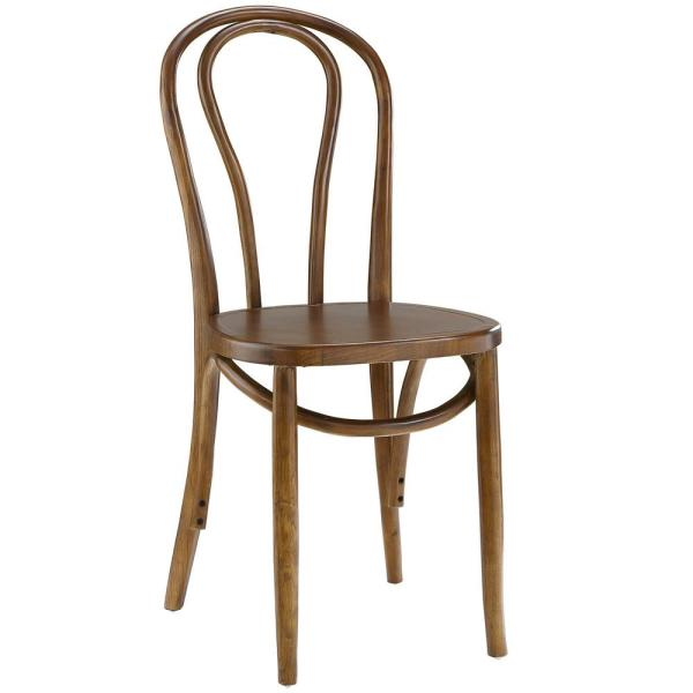 MODWAY Eon Walnut Dining Side Chair EEI-1543-WAL