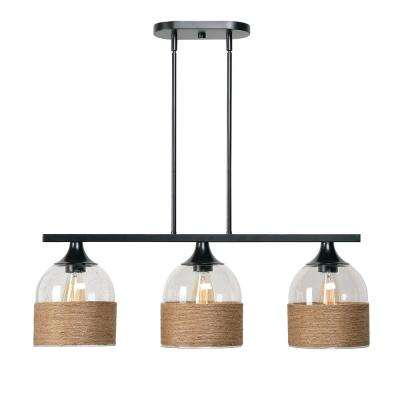 Catalina 3-Light Oil Rubbed Bronze Island Light Pendant