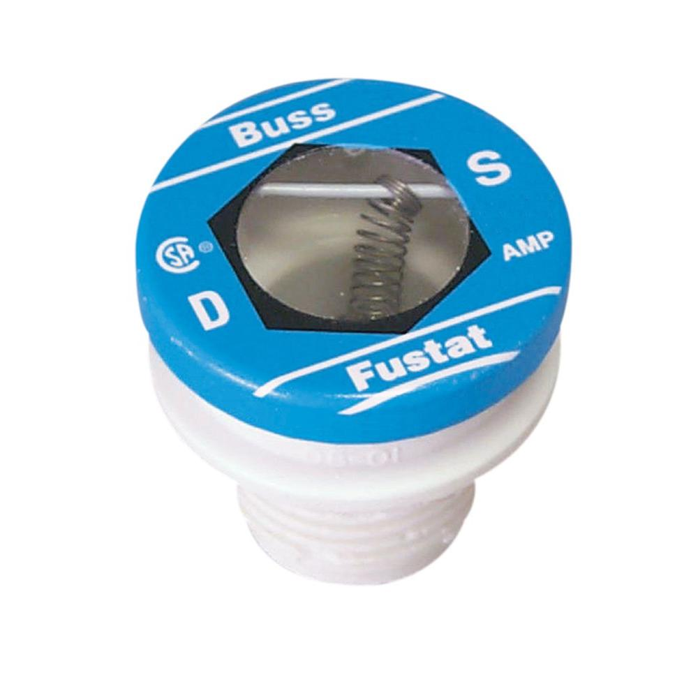 Cooper Bussmann 1.25 Amp Plug Fuse-BP/S-1-1/4 - The Home Depot