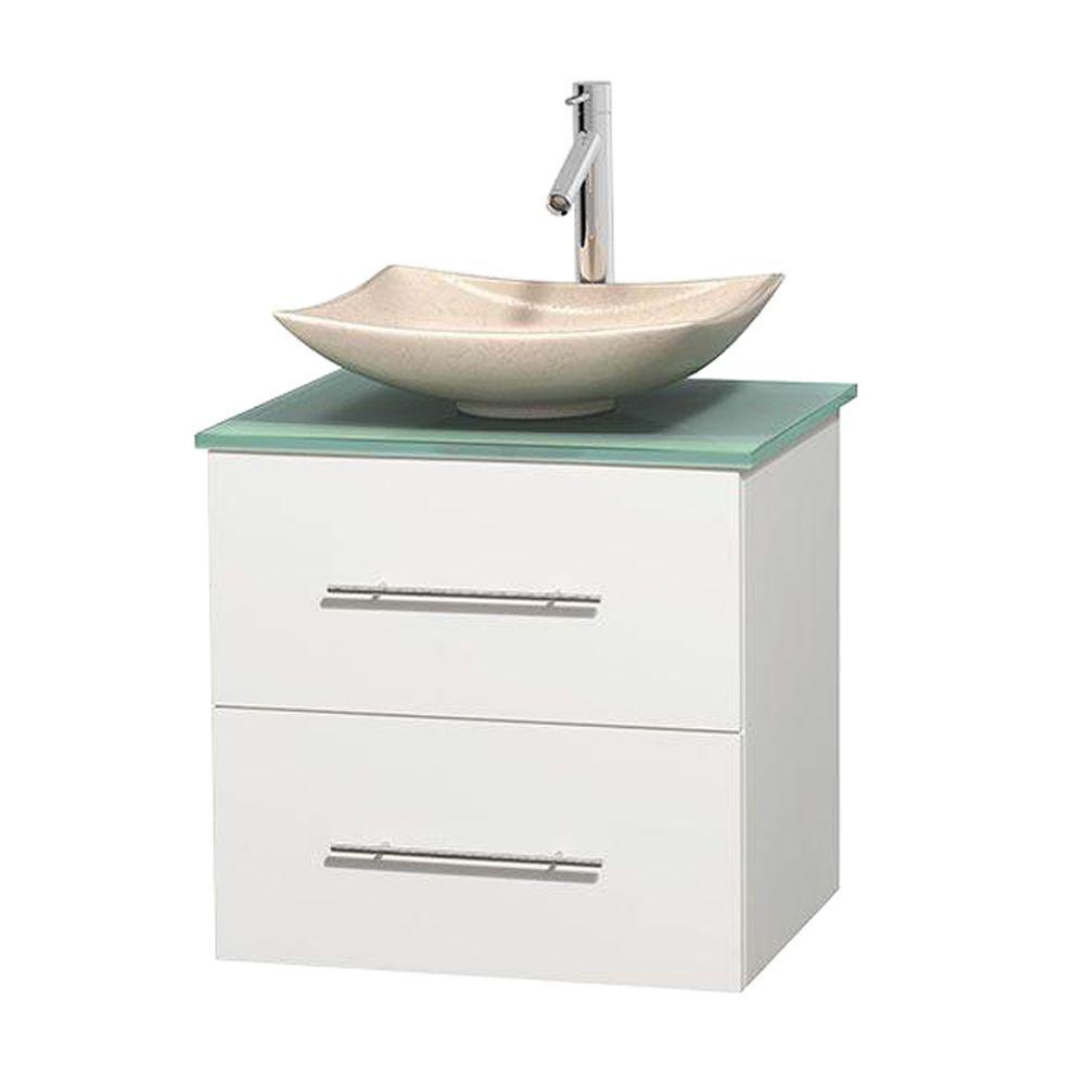 Glass Vanity Top With Sink Top