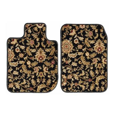 GGBAILEY D2687A-F1A-BLK/_BR Custom Fit Automotive Carpet Floor Mats for 1998 Audi A4 Wagon Black with Red Edging Driver /& Passenger