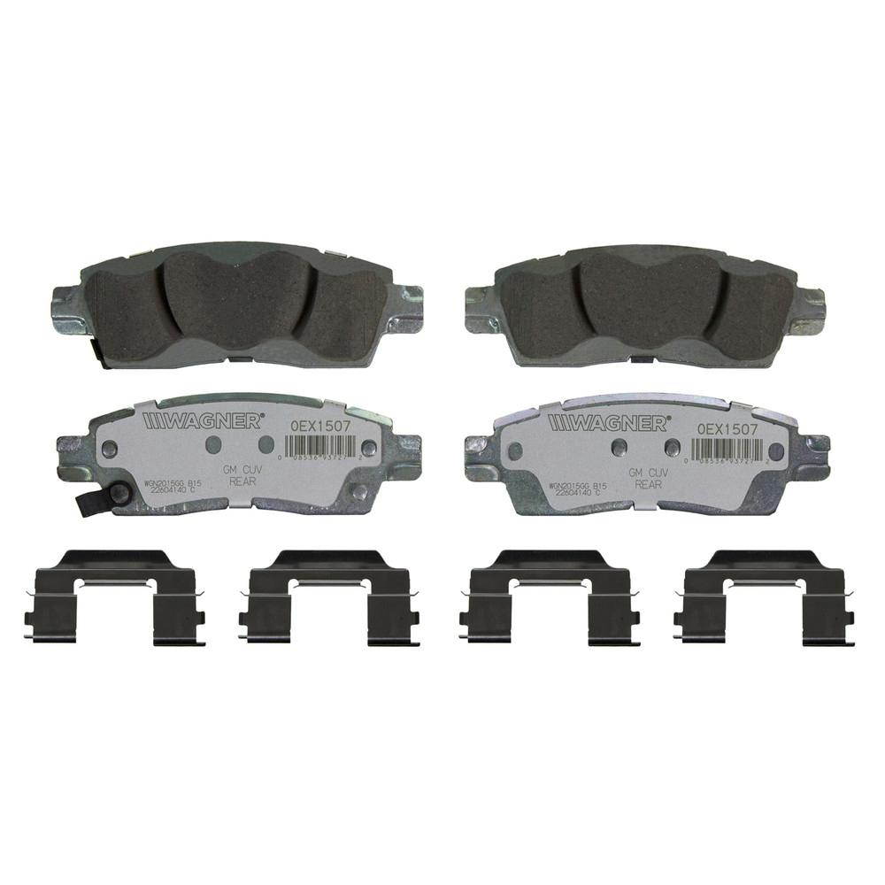 Wagner Brake OEX Disc Brake Pad - Rear-OEX1507 - The Home Depot