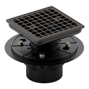 Oil Rubbed Bronze Shower Drain.Kohler Square Design Tile In Shower Drain In Oil Rubbed Bronze K 9136 2bz The Home Depot