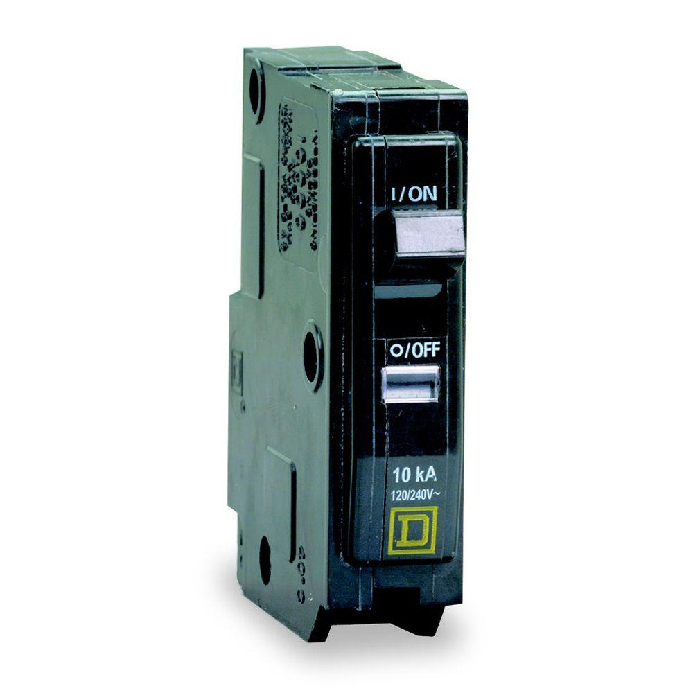 Square D Qo 20 Amp Single Pole Dual Function Cafci And Gfci 50 Breaker Wiring 15 Circuit