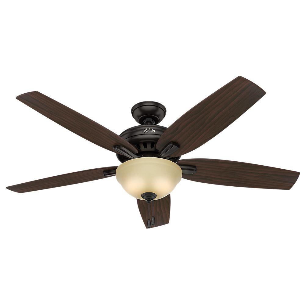 Hunter Fan Company Builder Great Room New Bronze Ceiling: Hunter Newsome 56 In. Indoor Premier Bronze Bowl Light Kit