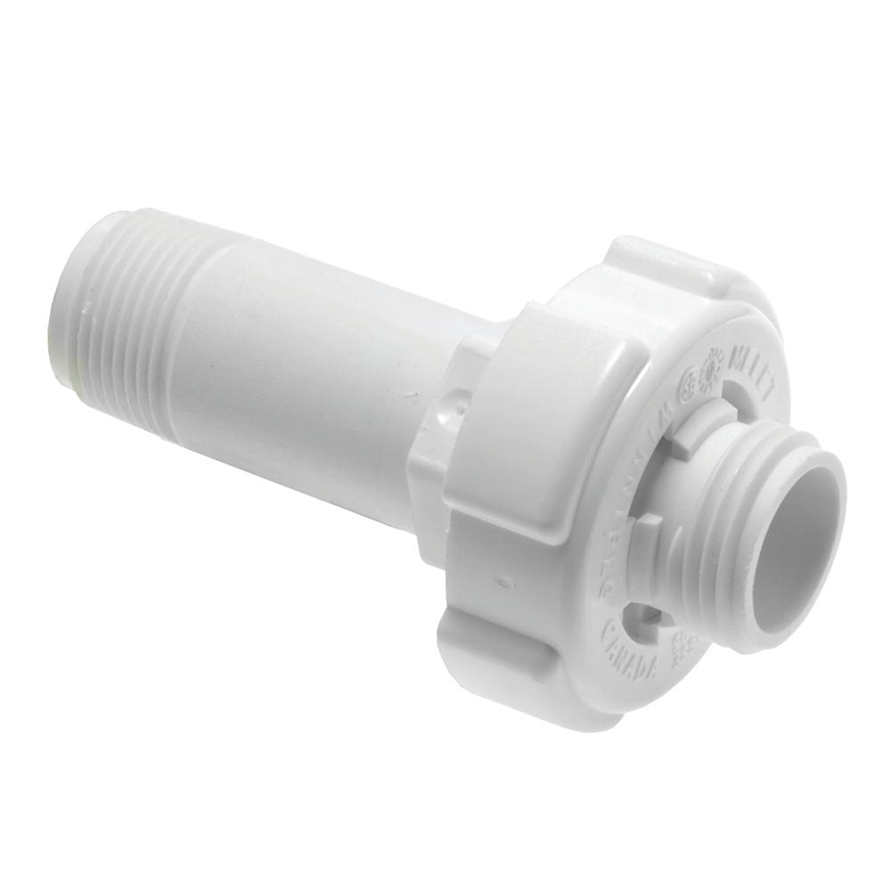Rheem Protech Plastic Drain Valve For Tank Type Water Heaters