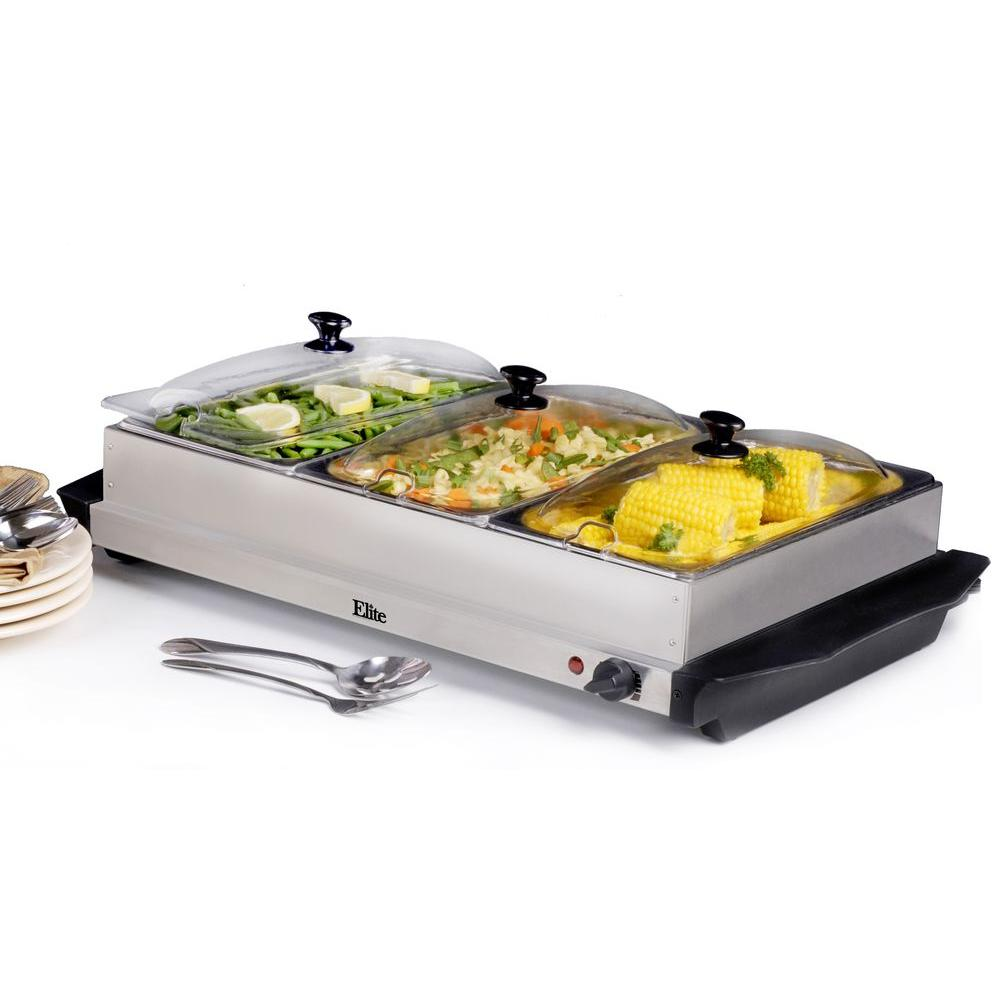 elite platinum warming tray - Cold Buffet Server