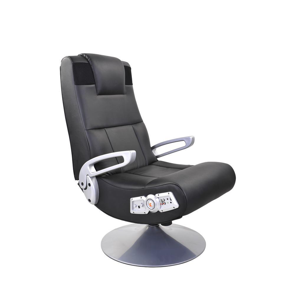 Groovy X Rocker Black Vinyl Wireless Audio Pedestal Chair 5127401 Ibusinesslaw Wood Chair Design Ideas Ibusinesslaworg