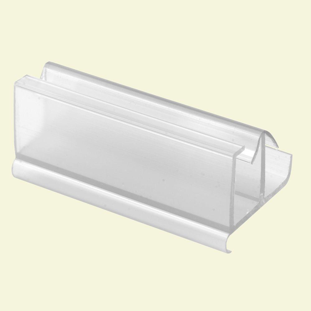Prime Line Clear Frameless Shower Door Guide M 6217 The Home Depot