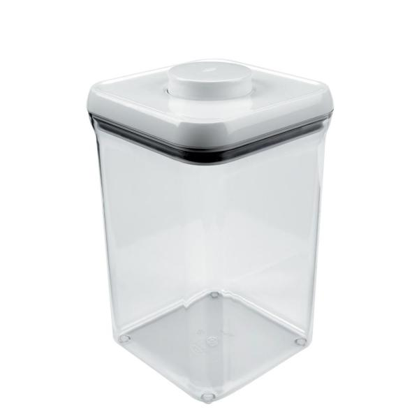 Good Grips 4.0 Qt. POP Container with Lid – Stackable Airtight Food Storage for Flour and More
