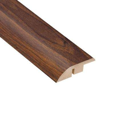 High Gloss Ladera Oak 1/2 in. Thick x 1-3/4 in. Wide x 94 in. Length Laminate Hard Surface Reducer Molding