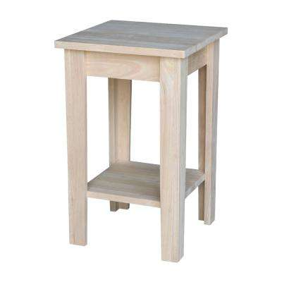 Shaker Unfinished Plant Stand