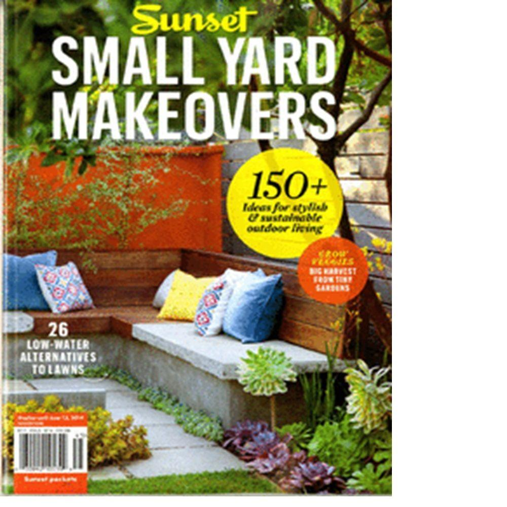 Sunset Small Yard Makeover Magazine