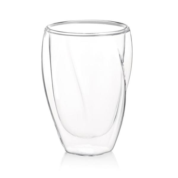 Lacey 10 oz. Insulated Coffee Glasses (Set of 2)