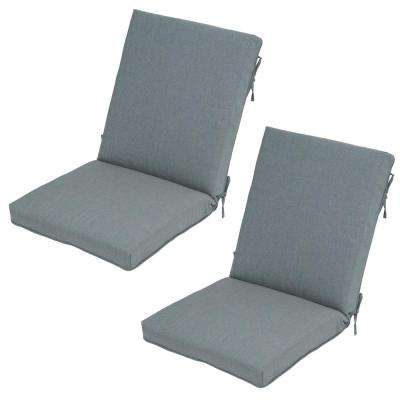Spa Outdoor Dining Chair Cushion (2-Pack)