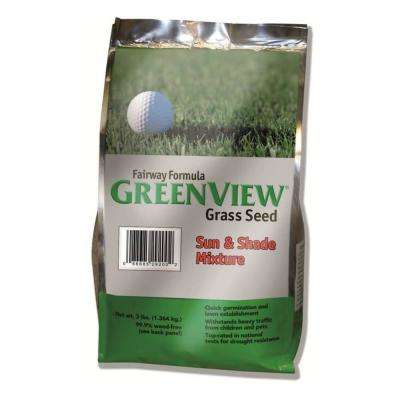 3 lb. Fairway Formula Sun and Shade Grass Seed Mixture