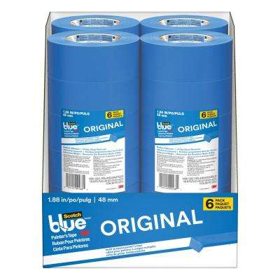 ScotchBlue 1.88 in. x 60 yds. Original Multi-Use Painter's Tape (6-Pack) (Case of 4)
