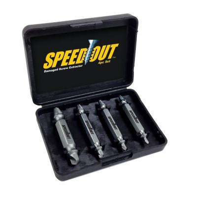 Speed Out Screw Extractor (4-Piece)
