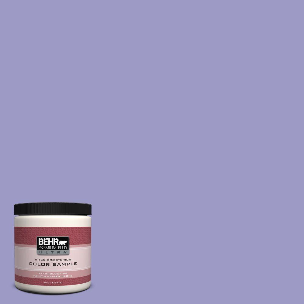8 oz. #630B-5 Majestic Violet Interior/Exterior Paint Sample