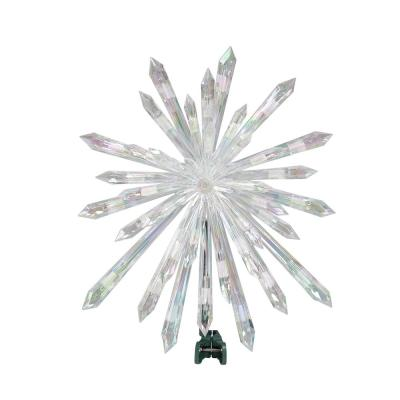 14 in. Lighted Snowflake Tree Topper