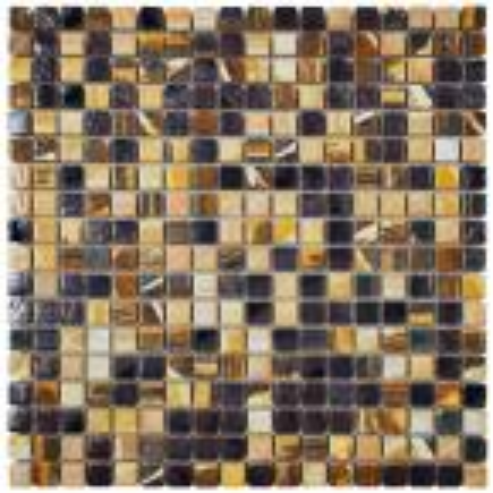 Rustica Mini Highlands 12 in. x 12 in. x 8 mm Porcelain Mosaic Tile