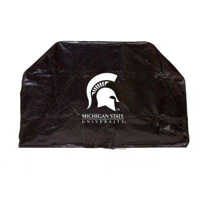 59 in. NCAA Michigan State Grill Cover