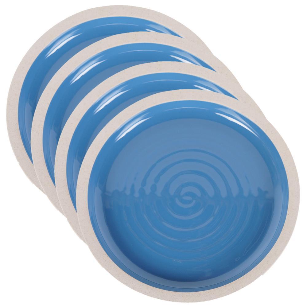 Artisan Blue Dinner Plate (Set of 4)